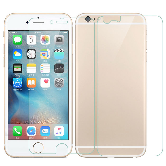 Matte Front + Back Screen Protectors Set for IPHONE 6 PLUS / 6S PLUS
