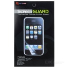Clear Front + Back Screen Protectors Set for IPHONE 6 PLUS / 6S PLUS