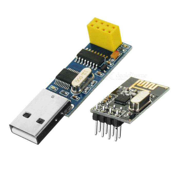 USB Wireless Serial Port to nRF24L01+ Module
