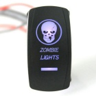 IZTOSS DC 12/24V ZOMBIE LIGHTS Rocker Switch for Boat, Car