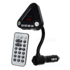 Long Pole Car MP3 / FM Transmitter / Cigarette Lighter / Bluetooth Handsfree - Black