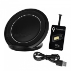 Cwxuan Universal Anti-Slip Qi Micro USB Charger Kit Wireless - Preto
