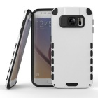 MO.MAT Dual Layer Hybrid Armor Defender Rugged Hard Protective Case for Samsung Galaxy S6 Edge
