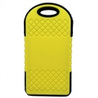 6000mAh Camping LED Light / Power Bank w/ LED Indicator - Yellow+Black