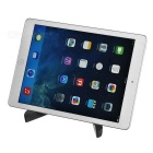 "Universal Adjustable Stand for Max 10"" Tablets & IPHONE + More - Black"