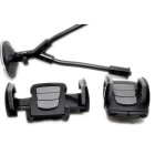 Universal Phone Mount Phone Stand w / Dual Holders para IPHONE 6 - Preto