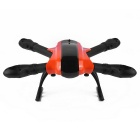 480mm Wheelbase 4-Axis Foldable Aircraft Frame for Xcam 480 - Orange + Black