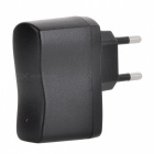 5V 1A EU Plug AC Charging Adapter for IPHONE 6/6S, Samsung, Xiaomi, Tablet PC, Camera - Black