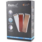 KEMEI Wireless Adult Rechargeable Electric Hair Clipper - White