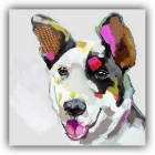 Home Room Decoration Frame-Free Dog Painting Canvas Wall Art Picture (45 x 6 x 6cm)