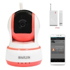 HOSAFE 1MW20 CMOS 1.0MP Home Security IP Camera w/ 10-IR-LED / Door & Window Sensor / TF