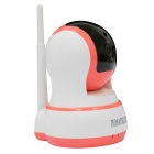 HOSAFE CMOS 1.0MP de seguridad Cámara IP con kit de 10-IR-LED - rosa (enchufe eu)