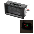 Electric Quantity / Red Light Voltage Meter Displayer for 12V Lead-acid Storage Battery
