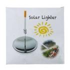 Outdoor Survival Tool Camping Solar Spark Lighter - Silver