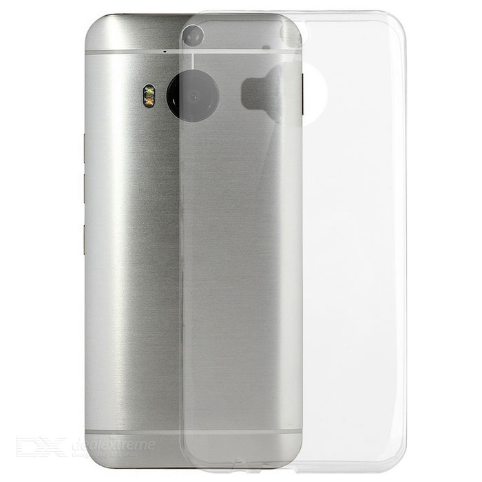 Ultra-Thin Protective TPU Back Case Cover for HTC M9 Plus -Transparent