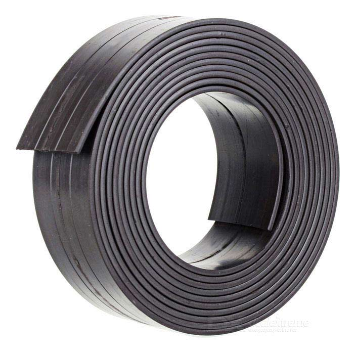 2000*25*1.5mm Flexible Magnetic Strip Tape Magnet for Office - BlackMagnets Gadgets<br>Form ColorDark Coffee 200cmMaterialRubber + magnetic powderQuantity1 PieceNumber1Suitable Age 5-7 Years,8-11 Years,12-15 Years,GrownupsPacking List1 x Single sided magnetic tape<br>