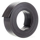 2000*25*1.5mm Flexible Magnetic Strip Tape Magnet for Office - Black