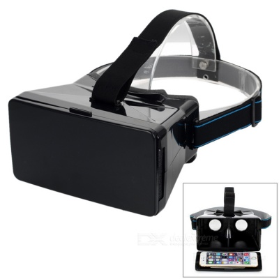 Head Mount Virtual Reality 3D Video Glasses for 3.5-5.6