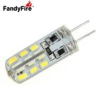 FandyFire G4 1.5W LED Bulb Lamp Warm White Light 400lm 24-SMD (DC 12V)