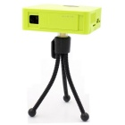 UC50 Mini Portable Digital DLP 1080P HD Home Theater Projector w/ HDMI - Green
