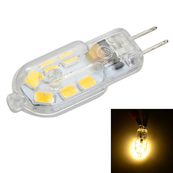 g4 pc cover 3w 150lm warm white light 12 smd led bulb ac. Black Bedroom Furniture Sets. Home Design Ideas
