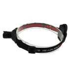 Retractable Focus Q5 3-Mode 200lm Cool White Headlamp - Black (3*AAA)