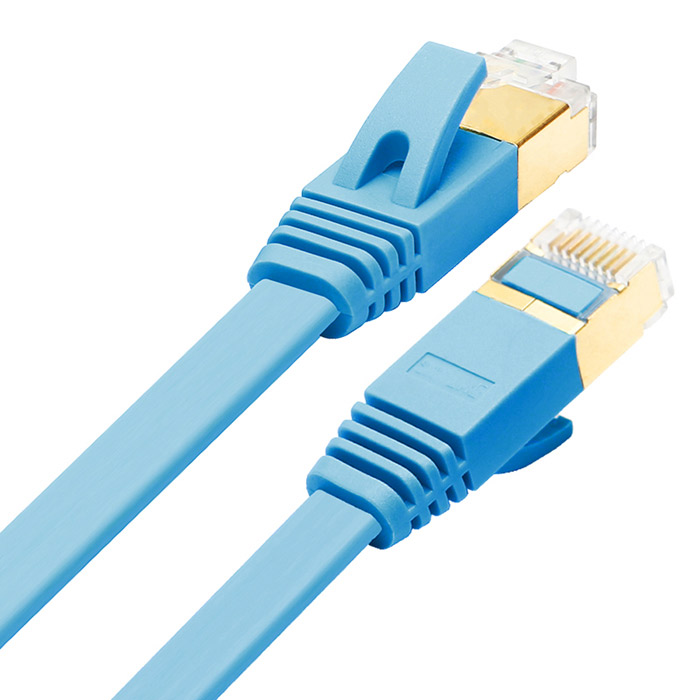 cat 7 rj45 10gbps 600mhz network ethernet cable blue 200cm free shipping dealextreme. Black Bedroom Furniture Sets. Home Design Ideas