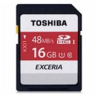 Toshiba THN-N301R0160C4 Exceria Class 10 UHS-1 (48mb/s) SD Memory Card