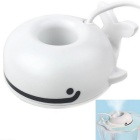 Floating Whale Style USB Spray Moisture Humidifier - White + Black