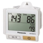 Genuine Panasonic EW-BW10 Wrist Blood Pressure Meter - White (2 x AAA)