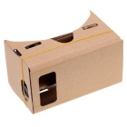 "Cardboard Virtual Reality VR 3D Viewing Glasses for 5.0"" Phone"