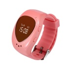 GPS Tracker Bracelet GSM Locator Watch Phone w/ Google Map SOS for Kid