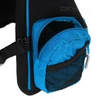 LOCAL LION Outdoor Cycling Hiking Water-Resistant Shoulders Bag Backpack - Blue + Green (20~25L)