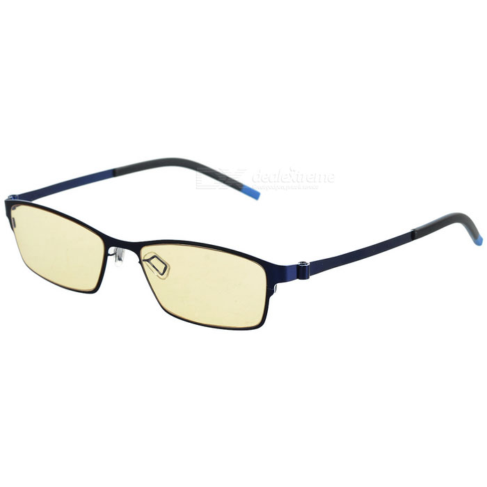 MOBIKE Anti-radiation 80% Blue Ray Protection Glasses - Blue + Yellow