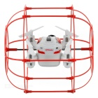 HAPPYCOW Flying & Wall Climbing R/C Aircraft Toy w/ 360' Tumble - Red