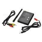 High Sensitivity 5.8G 32CH AV 600mW FPV Image Receiver - Black