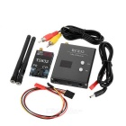 TS832+RC832 5.8G 600mW FPV Image Transmitter Receiver Kit - Black