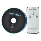 VENT S17 HDMI Serie 3 in 1-out Switcher Adapter - Blu + Nero