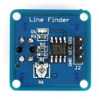 TCRT5000 Linje Finder Infraröd Tracking Sensor Modul för Smart Car