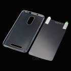 Protective TPU Back Case Cover + Screen Protector Guard Set for Xiaomi Redmi Note 3 - Transparent
