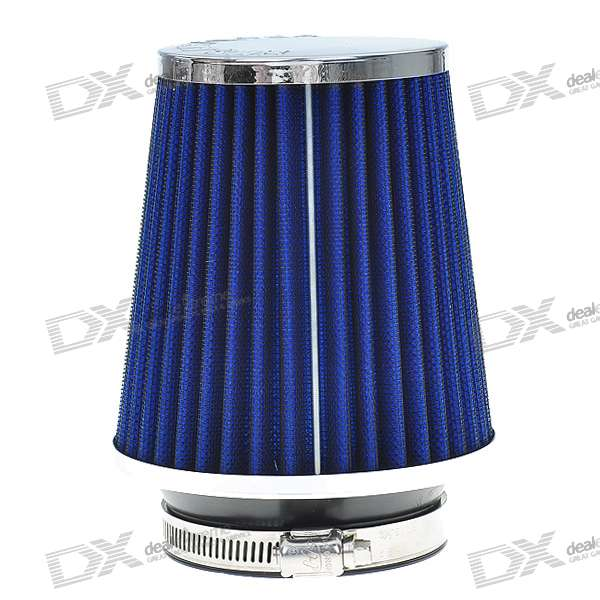 Universal Super Power Flow Air Filter for Car (Blue) asus radeon rx 460 1200mhz pci e 3 0 4096mb 7000mhz 128bit dvi hdmi dp hdcp strix rx460 4g gaming