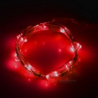 Leadbike Red Light 2-Mode 20-LED Bike Wheel Spoke Light - Black