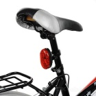 Leadbike 8-LED Red Light Bike Laser Projection Tail Light - Red