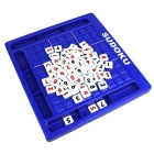 Sudoku Number Blocks Puzzle Game Toy - Blue + Black