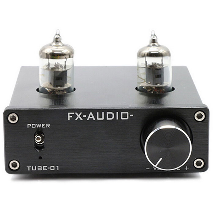 Feixiang TUBE-01 Tube Buffer 6J1 Hi-Fi Pre-amplifier - Black