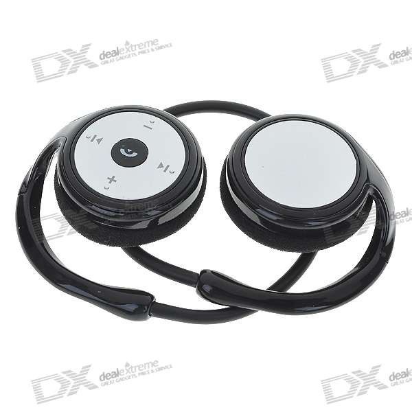 AX-610 Bluetooth V2.1 Stereo Handsfree Headset - Black (10-Hour Talk/135-Hour Standby)