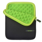 TANTUQI 8-inch Shock Drop Resistant Tablet Computer Bag - Green + Black