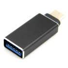 CY USB 3.1 tipo C a A Adaptador OTG para MACBOOK & chromebook - negro