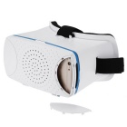 "Head-Mounted Cardboard 3D Virtual Reality VR Glasses w/ Headband for 4.5~6"" Phone - White"