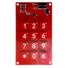 Produino MPR121 3 X 4 Capacitive Touch Panel Button Module for Arduino - Red